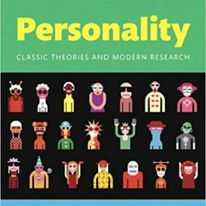 Solution Manual for Personality: Classic Theories and Modern Research
