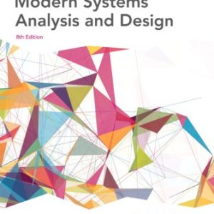 Solution Manual for Modern Systems Analysis and Design