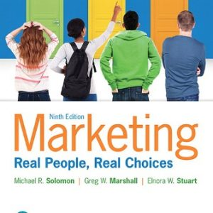 Solution Manual for Marketing: Real People