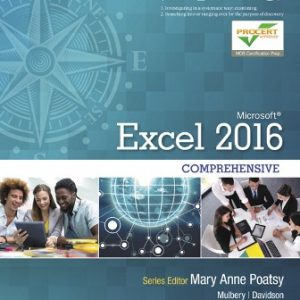 Solution Manual for Exploring Microsoft Office Excel 2016 Comprehensive