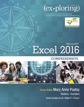 Test Bank for Exploring Microsoft Office Excel 2016 Comprehensive