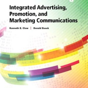 Solution Manual for Integrated Advertising