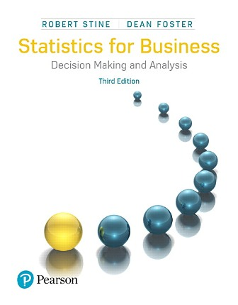 Test Bank for Statistics for Business: Decision Making and Analysis