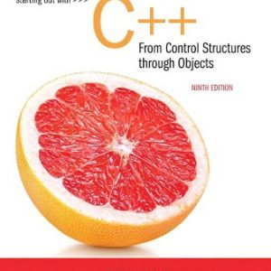 Test Bank for Starting Out with C++ from Control Structures to Objects