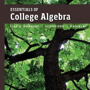 Solution Manual for Essentials of College Algebra