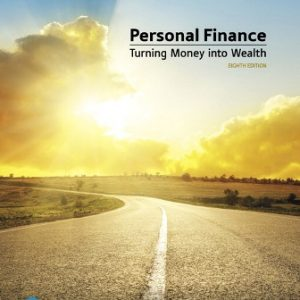 Solution Manual for Personal Finance