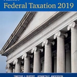 Solution Manual for Pearson's Federal Taxation 2019 Individuals