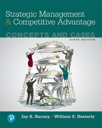 Test Bank for Strategic Management and Competitive Advantage: Concepts and Cases