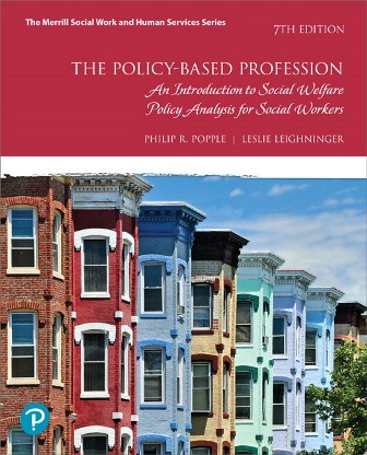 Test Bank for Policy-Based Profession, The An Introduction to Social Welfare Policy Analysis for Social Workers 7th Edition Popple
