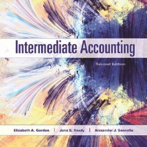 Test Bank for Intermediate Accounting 2nd Edition Gordon