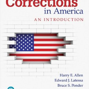 Test Bank for Corrections in America: An Introduction