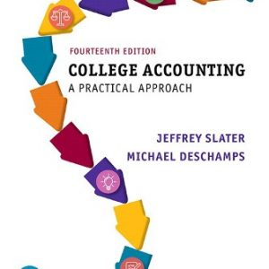 Test Bank for College Accounting, 14th Edition, Jeffrey Slater, Mike Deschamps, ISBN-10: 0135188806, ISBN-13: 9780135188804