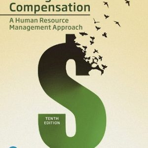 Solution Manual for Strategic Compensation