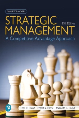 Solution Manual for Strategic Management: A Competitive Advantage Approach