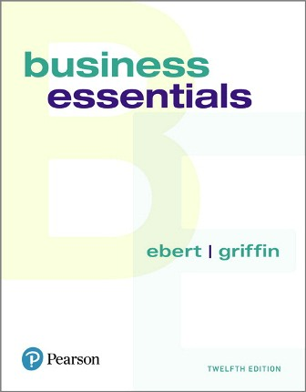 Solution Manual for Business Essentials 12th Edition Ebert