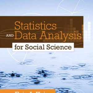 Solution Manual for Statistics and Data Analysis for Social Science