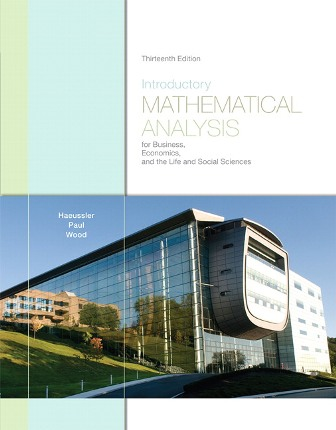 Test Bank for Introductory Mathematical Analysis