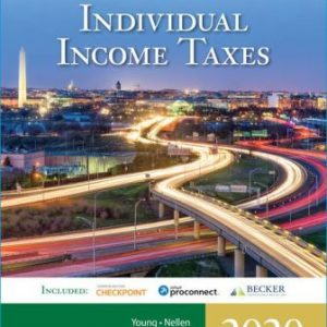 Solution Manual for South-Western Federal Taxation 2020: Individual Income Taxes