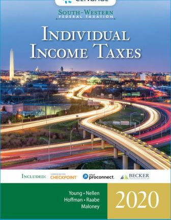 Test Bank for South-Western Federal Taxation 2020: Individual Income Taxes