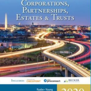 Solution Manual for South-Western Federal Taxation 2020: Corporations