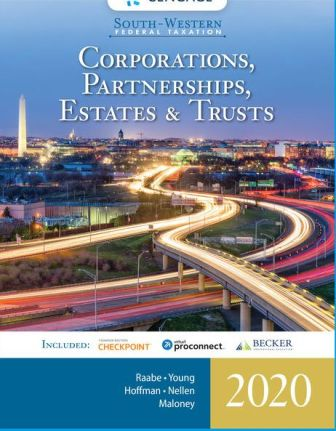 Test Bank for South-Western Federal Taxation 2020: Corporations