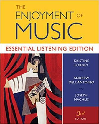 Test Bank for The Enjoyment of Music Essential Listening Edition
