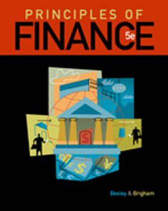 Test Bank for Principles of Finance 5th Edition Besley ISBN-10: 1111527369