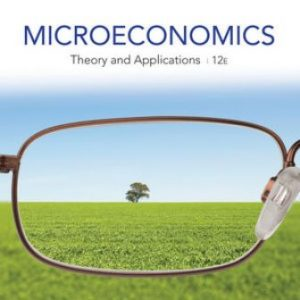 Solution Manual for Microeconomics: Theory and Applications