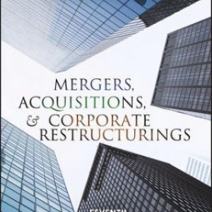 Test Bank for Mergers