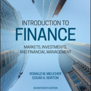 Solution Manual for Introduction to Finance