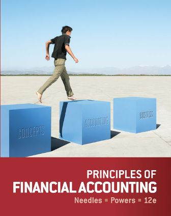 Test Bank for Principles of Financial Accounting 12th Edition Needles ISBN-10: 1133939287
