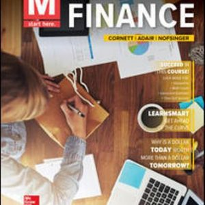 Solution Manual for M: Finance