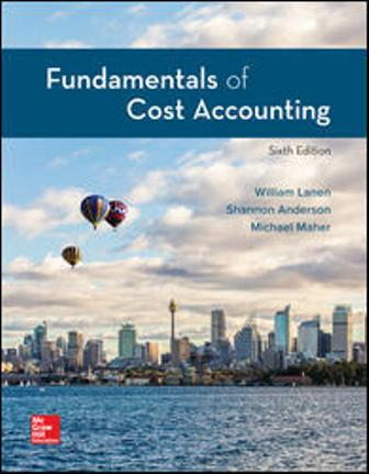 Test Bank for Fundamentals of Cost Accounting