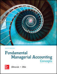 Solution Manual for Fundamental Managerial Accounting Concepts