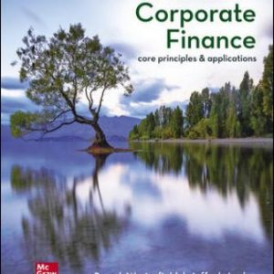 Test Bank for Corporate Finance: Core Principles and Applications 6th Edition Ross