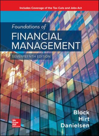 Solution Manual for Foundations of Financial Management