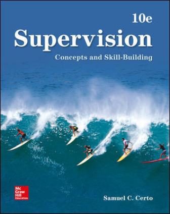 Test Bank for Supervision: Concepts and Skill-Building