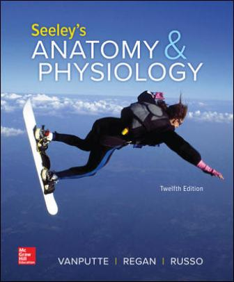 Test Bank for Seeley's Anatomy & Physiology 12th Edition VanPutte