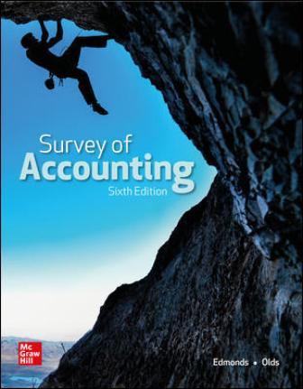 Test Bank for Survey of Accounting 6th Edition Edmonds