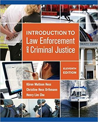 Test Bank for Introduction to Law Enforcement and Criminal Justice