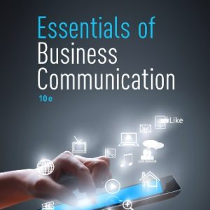 Test Bank for Essentials of Business Communication