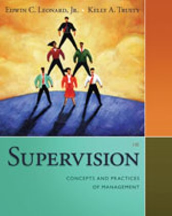Test Bank for Supervision: Concepts and Practices of Management