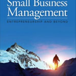 Solution Manual for Small Business Management: Entrepreneurship and Beyond