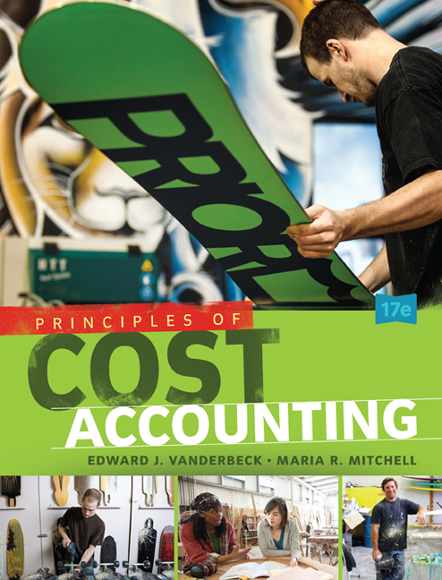 Solution Manual for Principles of Cost Accounting