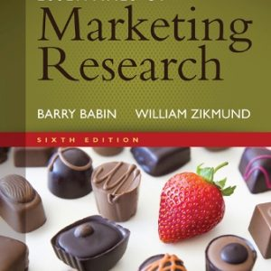 Solution Manual for Essentials of Marketing Research