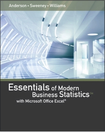 Test Bank for Essentials of Modern Business Statistics with Microsoft Excel