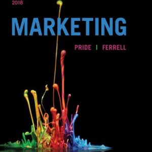 Solution Manual for Marketing 2018