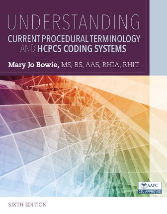 Solution Manual for Understanding Current Procedural Terminology and HCPCS Coding Systems 6th Edition Bowie
