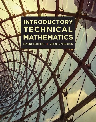 Solution Manual for Introductory Technical Mathematics
