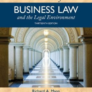 Solution Manual for Essentials of Business Law and the Legal Environment